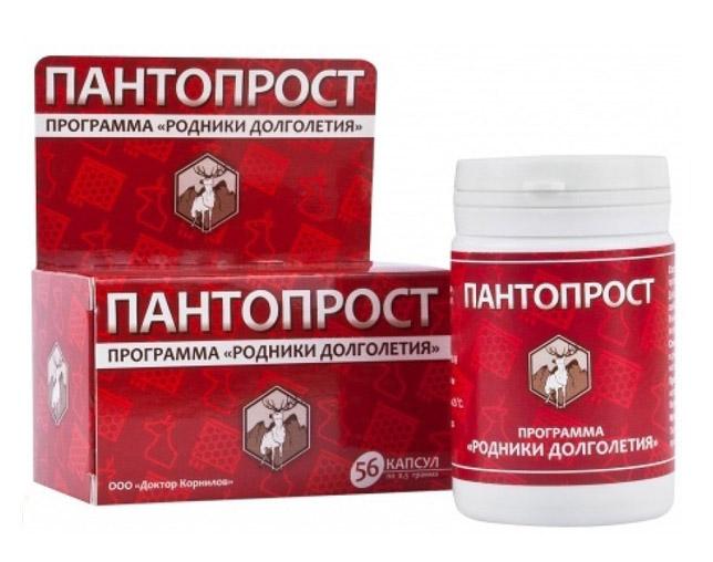 лекарство от простатита панты