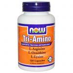 Три аминокислоты Now Foods фото