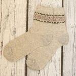 Светлые женские носки из конопли HEMPforLIFE фото