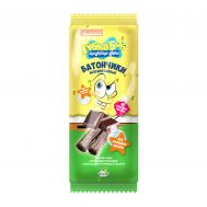 Батончик безглютеновый с шоколадной начинкой Губка Боб фото