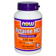 Betaine HCL Now Foods фото