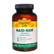 Витамины для волос Maxi-Hair Country Life фото