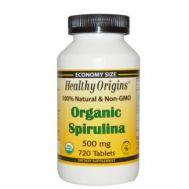 Спирулина в таблетках Healthy Origins фото