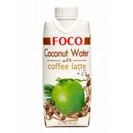 Кокосовая вода с кофе Латте Foco фото