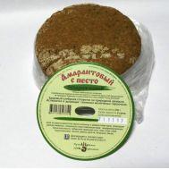 Хлеб амарантовый с песто фото
