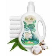 Кондиционер для белья с эфирным маслом эвкалипта и экстрактом хлопка BioMio фото