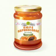 Пюре абрикосовое без сахара Дары Памира фото