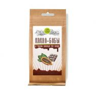 Какао-бобы в горьком шоколаде без сахара фото