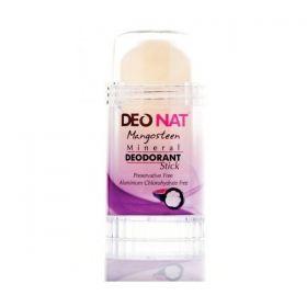 Дезодорант-кристалл с мангостином выдвигающийся на винтовой основе Deonat фото