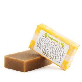 Мыло-шампунь Горчица и листья березы  фото