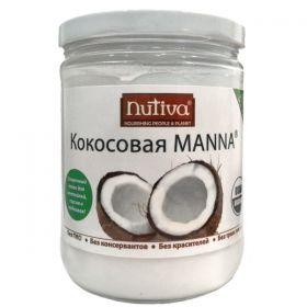 Кокосовая манна Nutiva фото
