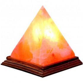 Солевая лампа Пирамида малая фото