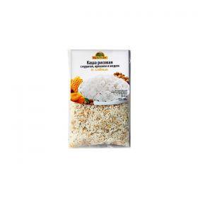 Каша рисовая с курагой и медом фото