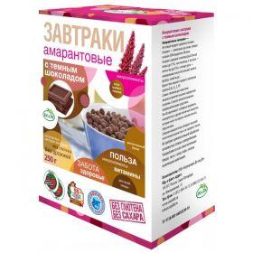 Завтраки амарантовые с тёмным шоколадом и стевией Di & Di фото