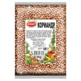 Кориандр семена Bioset фото