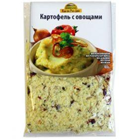 Картофельное пюре с овощами фото