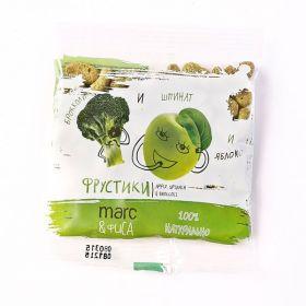 Фрустики брокколи, шпинат и яблоко фото