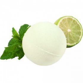 Бурлящий шарик для ванн Лайм и мята фото