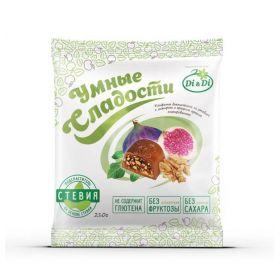 Конфеты инжир и грецкий орех со стевией Умные сладости фото