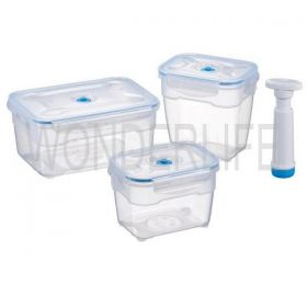 Набор вакуумных контейнеров (насос в комплекте) фото