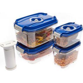 Вакуумный контейнер (набор) с насосом и дата-индикатором фото