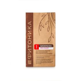 Биокраска для волос Красно-рыжий Фитоника фото