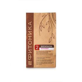 Биокраска для волос Бронзовый цвет Фитоника фото
