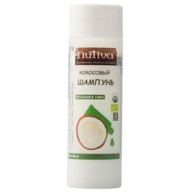 Кокосовый шампунь Nutiva фото