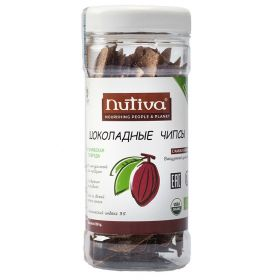 Шоколадные чипсы Nutiva фото