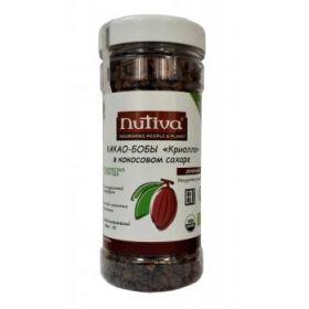 Кусочки какао в кокосовом сахаре Nutiva фото