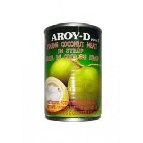 Мякоть молодого кокоса в сиропе Aroy-D фото
