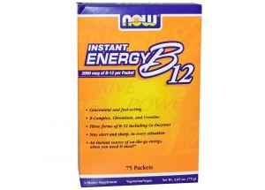 Энергетик с витамином B12 Now Foods фото