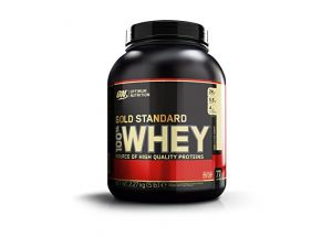 Протеин сывороточный Gold standard Vanilla Ice Cream Optimum Nutrition 2,27 кг фото