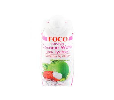 Кокосовая вода с соком личи Foco фото