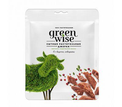 Растительные джерки со вкусом говядины Greenwise фото