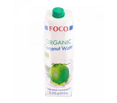 Кокосовая вода Тетра Пак Foco фото