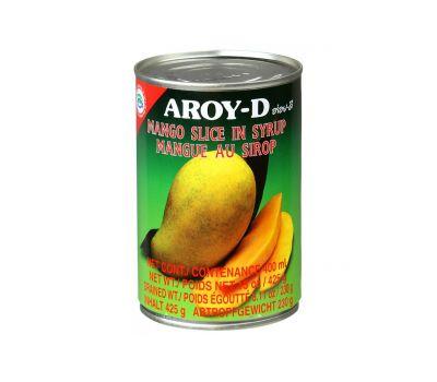 Манго (дольки) в сиропе Aroy-D фото