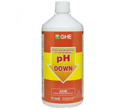 Регулятор pH Down GHE фото