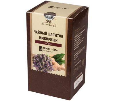 Чай имбирный с чабрецом АлтайФлора фото