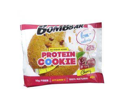 Печенье протеиновое Вишня Bombbar фото