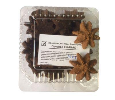 Печенье с какао Бетула фото