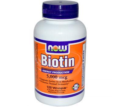 Биотин Now Foods фото