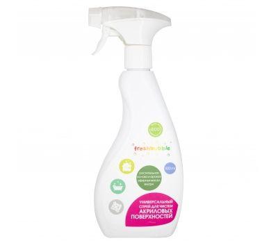 Спрей для чистки акриловых поверхностей Freshbubble фото