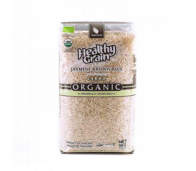 Органический коричневый рис Жасмин Sawat-D фото