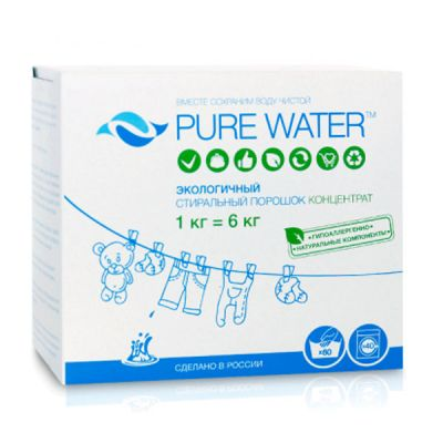 Порошок стиральный Pure Water фото