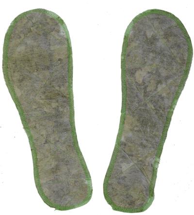 Стельки травяные противогрибковые фото