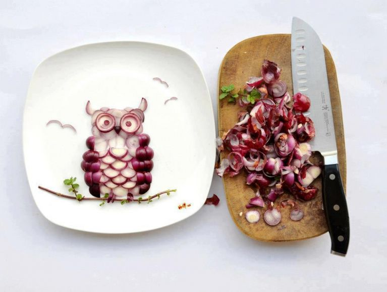 красиво оформленные блюда фото